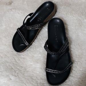 ITALIAN SHOE MAKERS Slip On Sandals